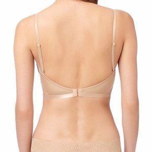 NWOT Le Mystere Dos Nu low-back bra, 34DD